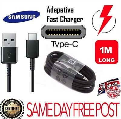Type C Adaptive Fast Charging USB Cable For Samsung Galaxy and Note 8 9 10 plus
