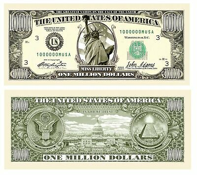 Set of 100 American Biker Million Dollar Bill
