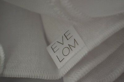 SALE! Sealed Eve Lom 100% cotton  muslin cleansing cloth single
