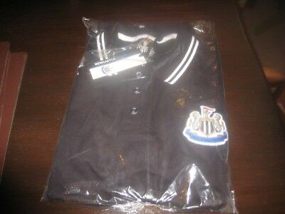 Newcastle United Polo Shirt Large Tags/Packet