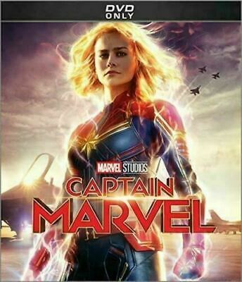 Captain Marvel (DVD, 2019) New & Sealed Free Fas Shipping