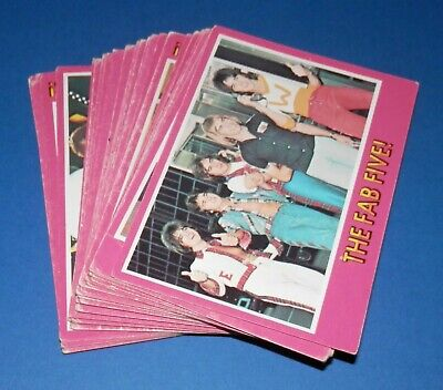 1976 Scanlens Bay City Rollers Lot of 34 Cards