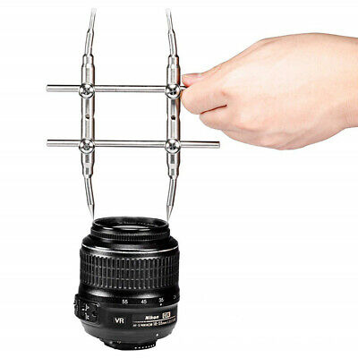 3K-WT Optical Spanner Wrench Camera Lens Screw Curved Tips Portable Opening Tool