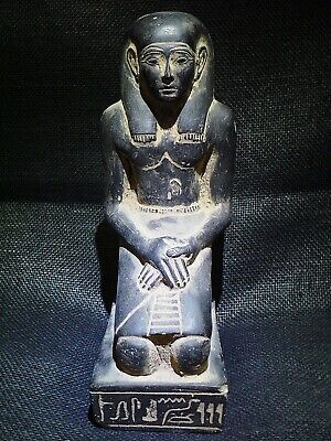 EGYPTIAN ANTIQUE ANTIQUITIES Kneeling Statue Of Pepy I Figure 2338-2298 BC