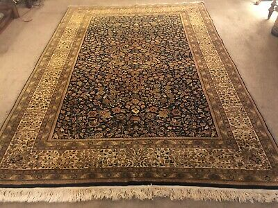 Fine Quality Antique Wool Hand knotted Indo Persiann Rug Carpet Runner