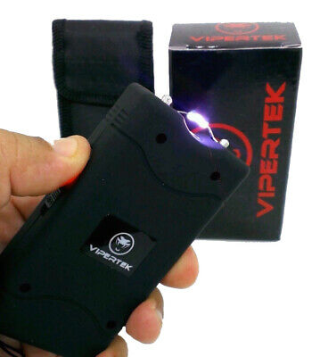 VIPERTEK Stun Gun Self Defense Rechargeable 110 Billion Volt 2.0mAh