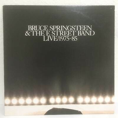 LIVE 1975-85 by BRUCE SPRINGSTEEN & THE E STREET BAND~ RARE PROMO LP ~ VINYL