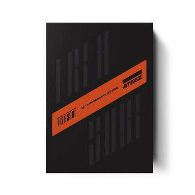 ATEEZ TREASURE EP.FIN:ALL TO ACTION LIMITED ANNIVERSARY CD+2ea Book+Card+etc+GIF