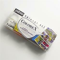 Pebeo Primary Aquarelle Ink Set Colorex With Free Drawing Gum Marker