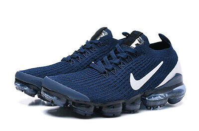 Nike Men's Air Vapormax Flyknit 3 Running Shoes Movement Fitness City Trail Blue