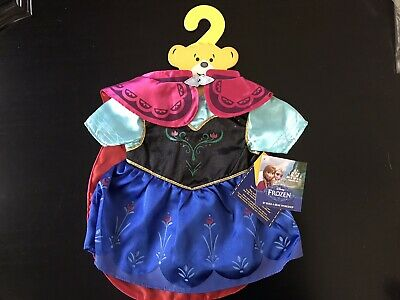 BNWT - Frozen Anna Costume - Build A Bear Genuine Clothes
