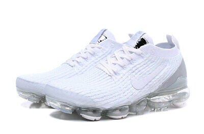 Nike Men's Air Vapormax Flyknit 3 Running Shoe Movement Fitness City Trail White