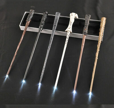Harry Potter LED Wand Hermione Dumbledore Zauberstab Christmas Cosplay Part Gift