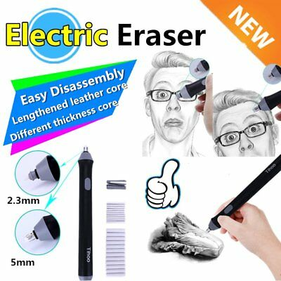 Easy Disassembly School Students Electric Eraser for Sketch Writing Drawing mx
