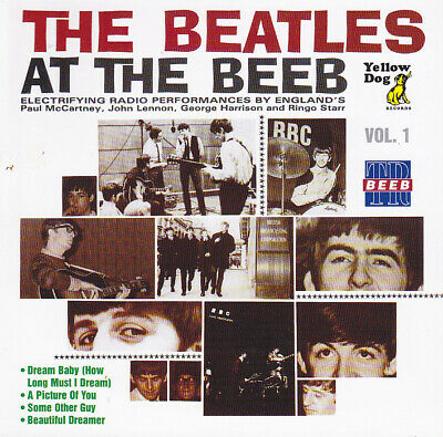 THE BEATLES   AT THE BEEB YELLOW DOG 12 page booklet  Vol 1 Press 1×CD *F/S