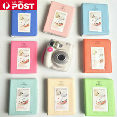 64 Pockets Mini Polaroid Photo Album 7 7S 8 9 Camera FujiFilm Instax Film AU