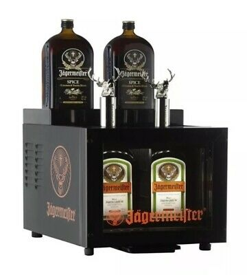 Brand New Jagermeister Speed Pour Tap Shot Machine 2 Bottle Dispenser MOdel SPF