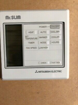 MITSUBISHI ELETRIC Mr Slim R22 Remote Control