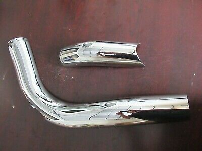 Chieftain 1262397-156 Indian Chrome LH Exhaust Transition Shield /'16-/'18 Chief