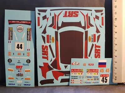 RALLYE PORTUGAL 2016 DECALS 1//24 SKODA FABIA R5  #45 PEDDER COLORADO VV24004