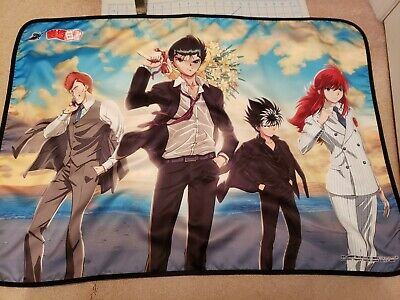 Yu Yu Hakusho Blanket by PROOF - excellent condition, official! rare! yyh