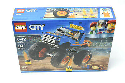 LEGO City 60180 Great Vehicles Monster Truck 192pcs Set Building Blocks - NEW