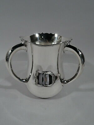 Fuchs Trophy - 1660 - Antique Edwardian Loving Cup - American Sterling Silver