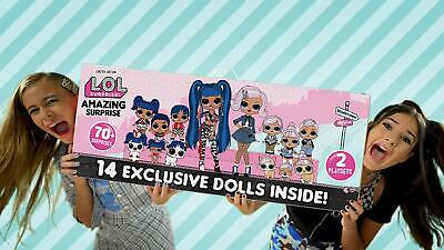 LOL Surprise Amazing Surprise With 14 Dolls Exclusive and more than 55 Surprises