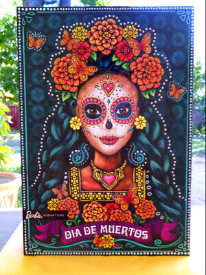 Barbie Day of The Dead Dia De Los Muertos Limited Edition Doll IN HAND