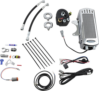 NEW ULTRACOOL SMT-1C Oil Cooler Kits Chrome