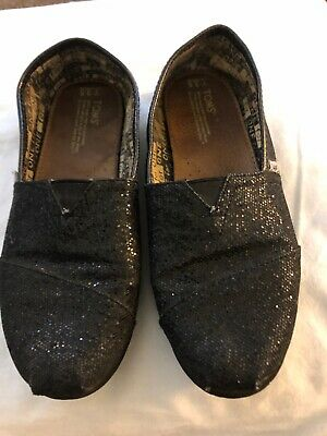 Girls,Toms Girls Shoes Flats Size 3.5, Sparkles