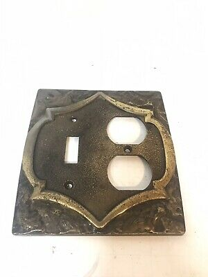 Vintage Amerock Monterey Outlet Cover Single Switch / Duplex Receptacle