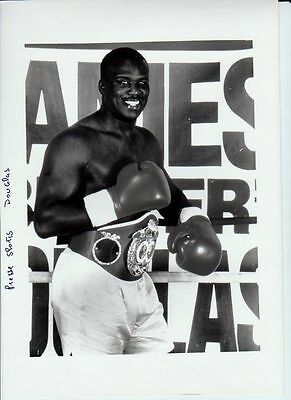 BOXE - James DOUGLAS - CHAMPION MONDE POIDS LOURDS Photo Presse Originale