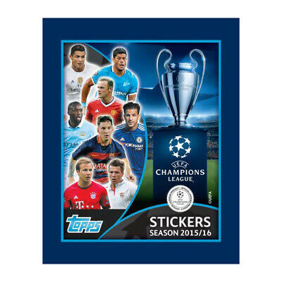 Topps UEFA Champions League 2015/16 Sticker Collection - Sticker Packet