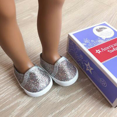 American Girl Truly Me Sparkle Sneakers for 18 inch Dolls