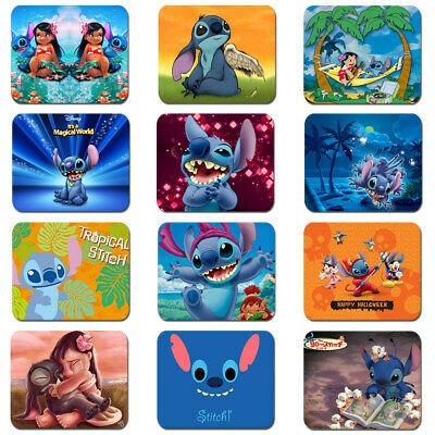 Cartoon Lilo & Stitch Soft Rubber Mouse Pad Mat Laptop Computer PC Game MousePad
