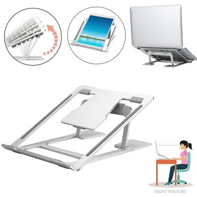 Adjustable Laptop Stand Folding Portable Desktop iPad Holder Office Support TH