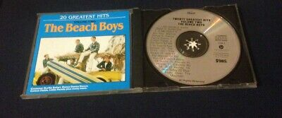 The Beach Boys 20 Greatest Hits Volume Two CD Capitol New Zealand