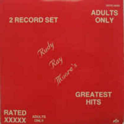 Rudy Ray Moore's Greatest Hits (1986) Mutt & Jeff 2 LP NEW sealed DOLEMITE