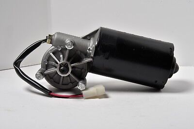 12V 50W DC Wiper Left Angle Reversible Electric Worm Motor 35 50 RPM High Torque