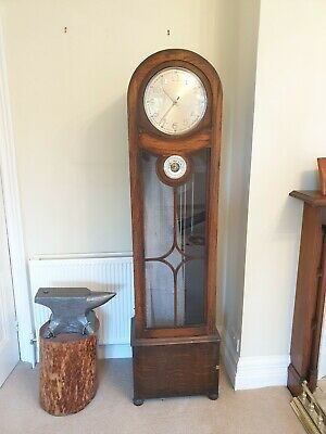 Art Deco Chime Longcase Clock, Fully Running, good condition