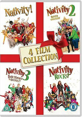 Nativity 4 Film Collection [2018] [DVD]