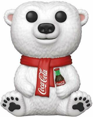 BRAND NEW Funko POP Ad Icons Series Coca-Cola Polar Bear Mint Vinyl Figure #58