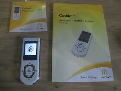 Cochlear Nucleus Remote Assistant CR110 with instruction booklet etc