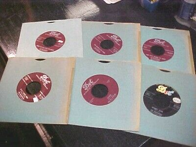 THE HILLTOPPERS 45'S LOT 1950's POP Vocal Group DOT RECORDS great for JUKEBOX