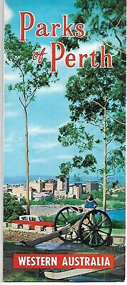 Vintage Parks Of Perth Western Australia Travel Guide Brochure