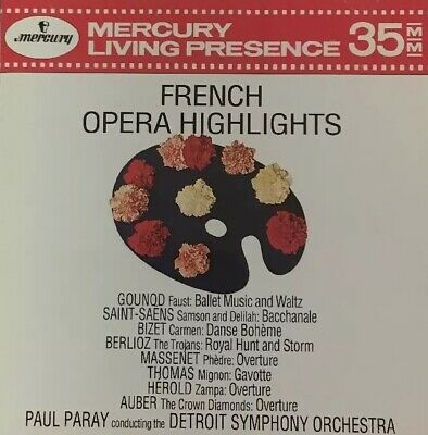 Mercury Living Presence Paul Paray French Opera Highlights 432 014-2 (CD, 1991)