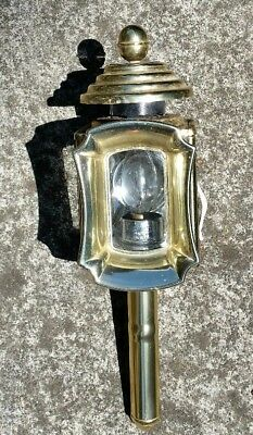 ANTIQUE style CARRIAGE LAMP light ENGLAND wired for electricity entrance home
