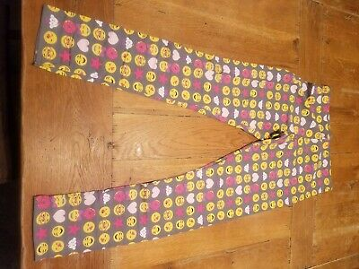 Faded Glory Emoji leggings NWT size 14/16 girls  size gray
