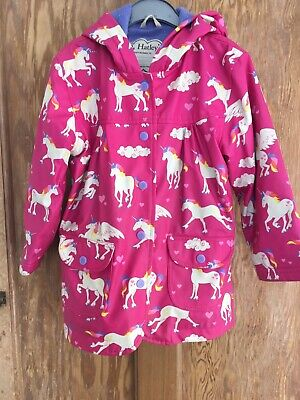 Hatley  Raincoat Age4 Unicorns And Rainbows